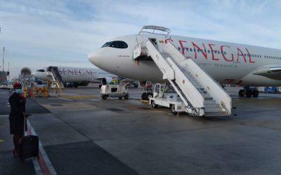 Report du vol Dakar-Paris de ce 15 mars