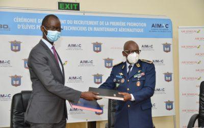 Formation de pilotes cadets et de techniciens : L'ecole de l'armée de l'Air et Air Sénégal, signent un partenariat
