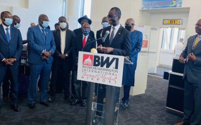 L'aéroport international de Baltimore-Washington déroule le tapis rouge à Air Sénégal